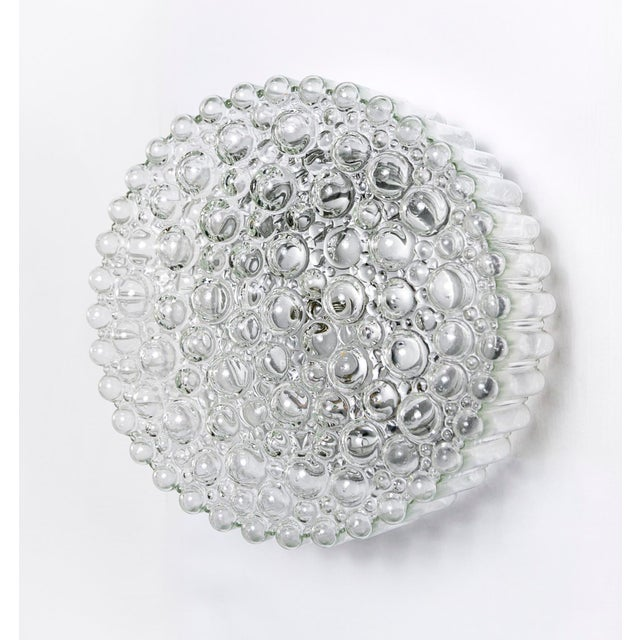 Circular Crystal Clear Bubbles Sconce by Helena Tynell For Sale In San Francisco - Image 6 of 6