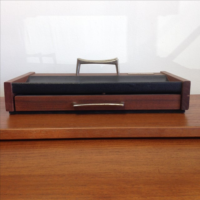 Mid-Century Desk Organizer by Don Lopez - Image 4 of 11