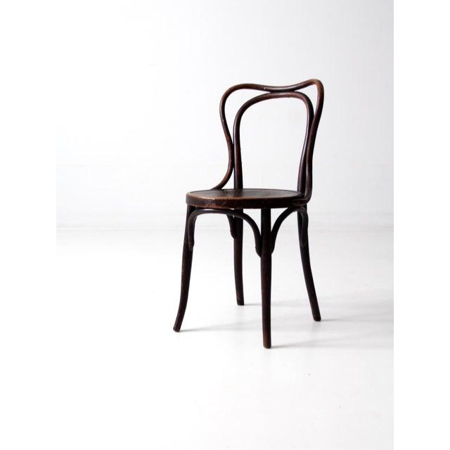 Art Nouveau Antique Jacob & Josef Kohn Bentwood Chair For Sale - Image 3 of 12