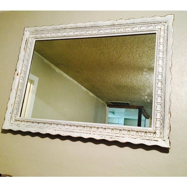 Vintage Bassett Shabby Chic Mirror - Image 7 of 7