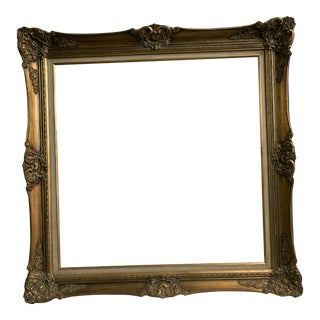 Early 20th / 19th Century Antique French Gilded Frame For Sale