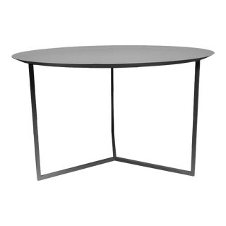 Contemporary Anodized Gray Tray Table For Sale