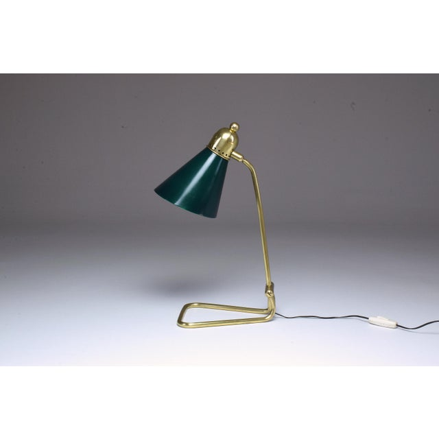 20th Century Vintage French Midcentury Table Lamp For Sale - Image 9 of 9