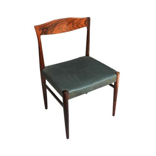 8 Midcentury Rosewood Dining Chairs by Erling Torvits for Sorø Stolefabrik For Sale