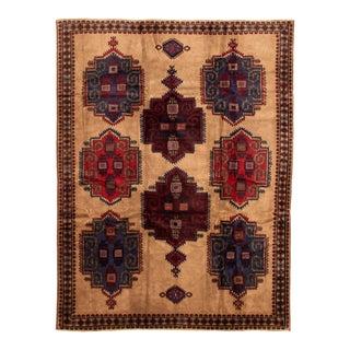 """Tribal Afghan Rug, 6'11"""" X 9'1"""" For Sale"""