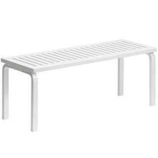 Alvar Aalto 153a Bench for Artek in White Lacquer