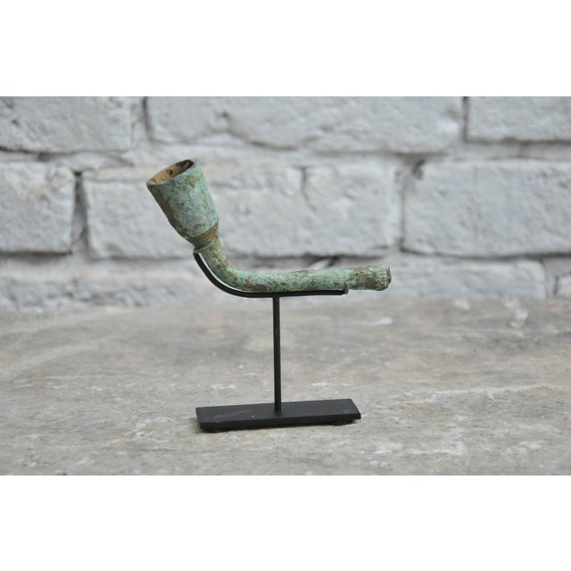 16-17th Century Bronze Opium Pipe Heads Excavated From the Central Highlands For Sale In Chicago - Image 6 of 8