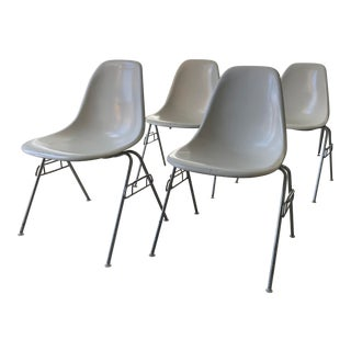 Herman Miller Shell Chairs - Set of 4 For Sale