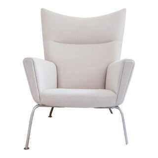 Carl Hansen Ch445 Wingback Chair For Sale