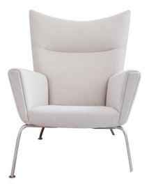 Image of Danish Modern Wingback Chairs