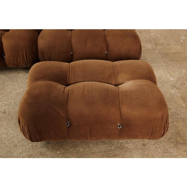 Mario Bellini 'Camaleonda' Modular Sofa, B&b Italia, 1970s, for Reupholstery For Sale - Image 6 of 9