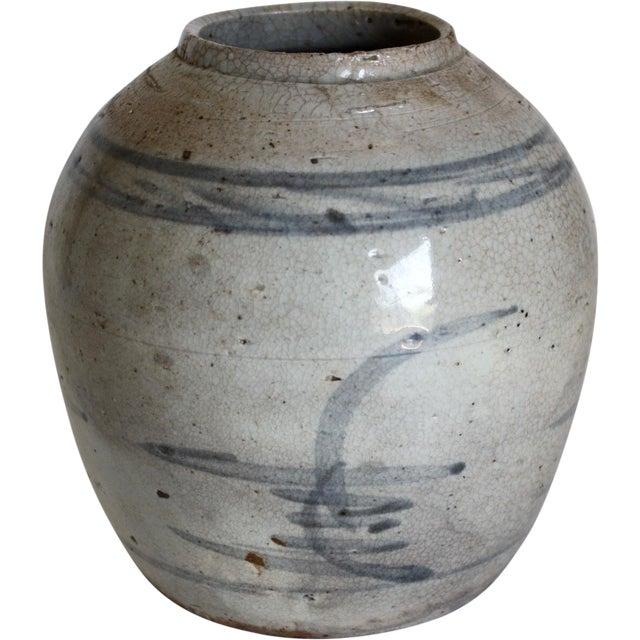 18th C. Chinese Stoneware Ginger Jar - Image 1 of 6