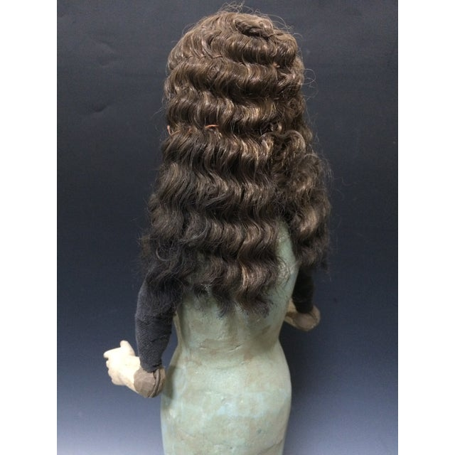 Handcarved Wood Articulated Female Mannequin For Sale - Image 10 of 11