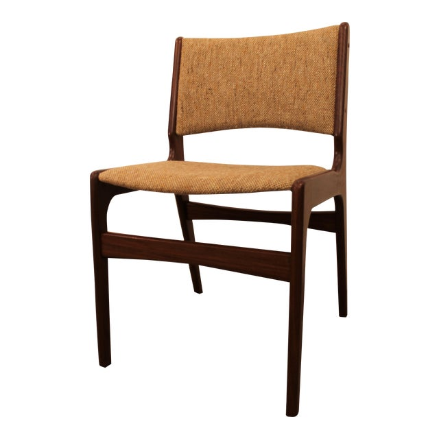 Hans Wegner Style Teak Dining Side Chair - Image 1 of 7