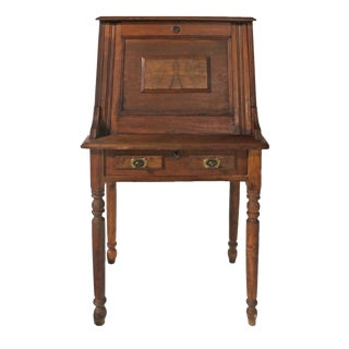 Mid 19th Century Victorian Drop Front Secretary Desk For Sale