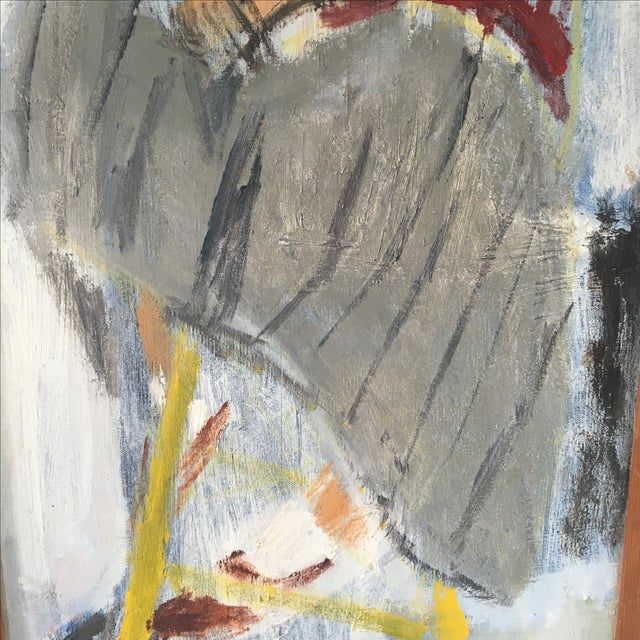 Postmodern Oil Painting of a Woman Figure For Sale - Image 4 of 6