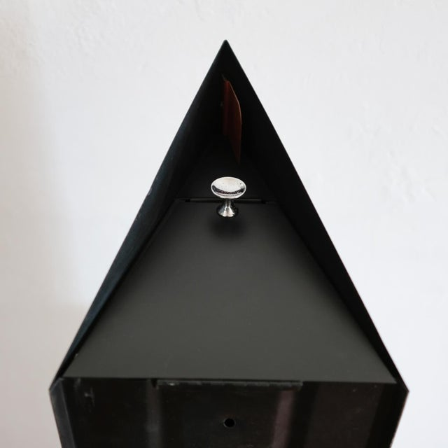 Mid-Century Modern A-Frame Architectural Mailbox, 1950s For Sale - Image 3 of 13