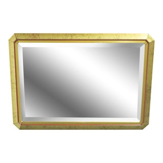 Contemporary Distressed Gilt Mirror For Sale