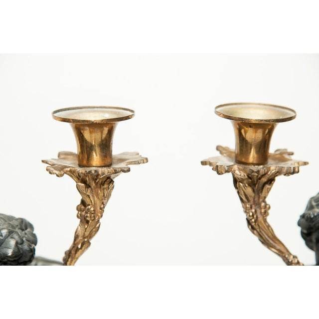Pair of Antique French Candelabra For Sale - Image 4 of 9