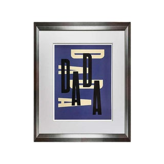 """Abstract Paul Rand Original """"Dada"""" Limited Edition Print For Sale"""