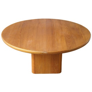 Vintage Danish Modern Jensen Frokjaeras Teak Coffee Table For Sale