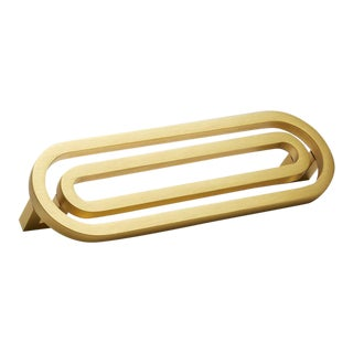 Deco-5.5S Satin Brass Handle For Sale