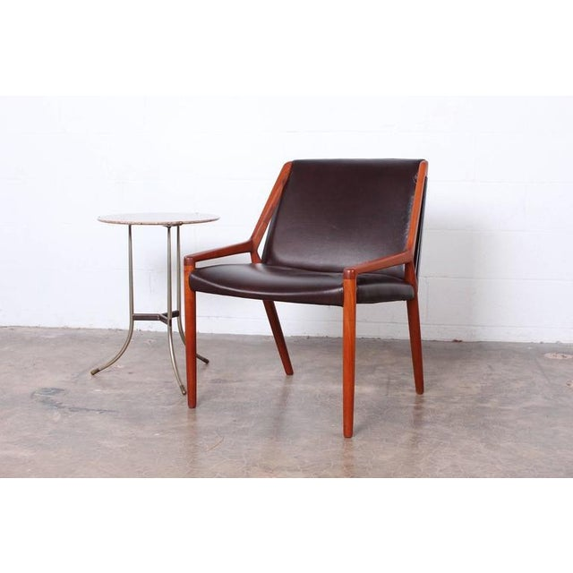 Lounge Chair by Ejner Larsen and Axel Bender Madsen for Willy Beck - Image 9 of 10