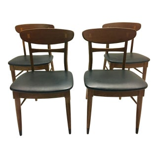 Mid Century Modern Danish Chairs - Set of 4