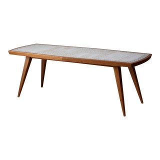 Berthold Muller Rectangular Mosaic Coffee Table, Germany For Sale