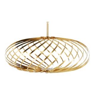 Tom Dixon Spring Small Pendant Brass For Sale