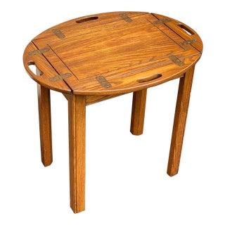 Pennsylvania House Oak Butler's Side Table For Sale