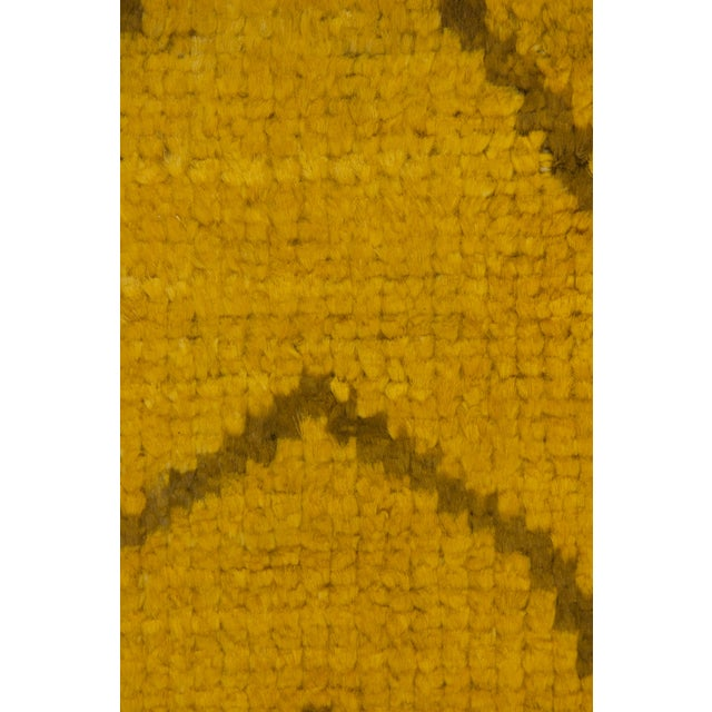 """Moroccan Hand Knotted Area Rug - 5'2"""" X 7'10"""" - Image 3 of 3"""