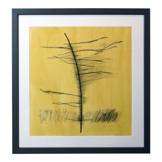 Tamarack #2 - Original Pen and Ink Drawing by Carolyn Reed Barritt For Sale