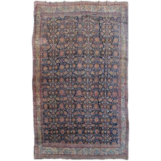 Islamic Bidjar Persian Carpet - 11′4″ × 18′8″ For Sale - Image 3 of 3