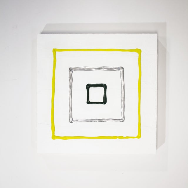Contemporary Modern Acrylic Painting, Is It Weird? #1 by Logan Ledford For Sale - Image 3 of 3