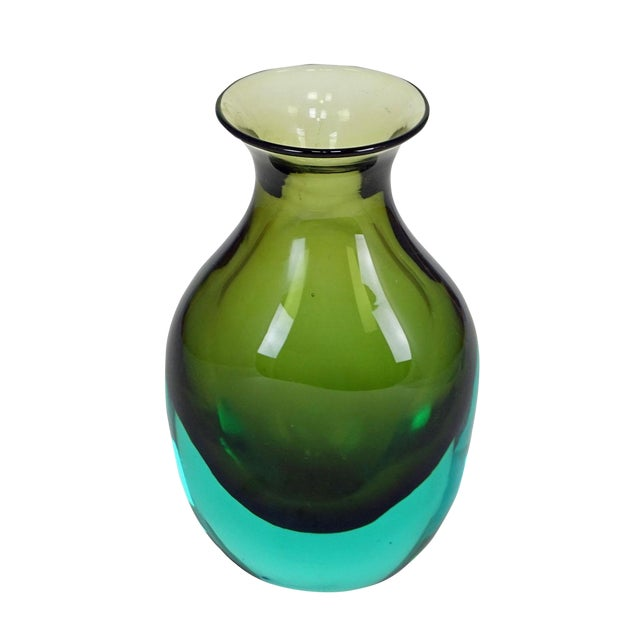 Antonio Da Ros For Gino Cenedese Sommerso Vase Ca. 1960 For Sale