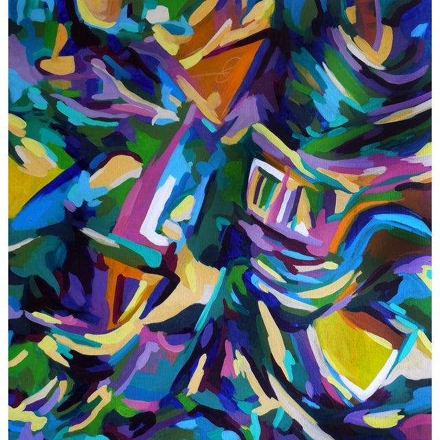 Centered Original Painting - Image 1 of 3
