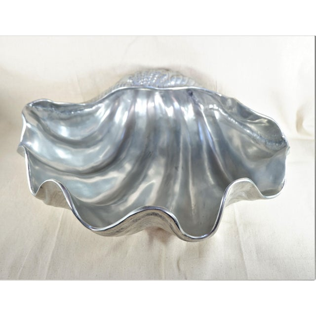 Vintage Arthur Court Clam Shell Bowl 1988 For Sale In San Francisco - Image 6 of 6