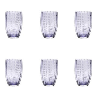 Perle Tumbler in Lavender - Set of 6 For Sale