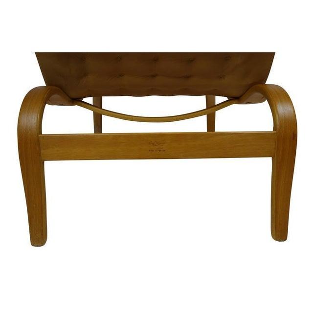 Mustard Bruno Mathsson Miranda Lounge Chair For Sale - Image 8 of 10