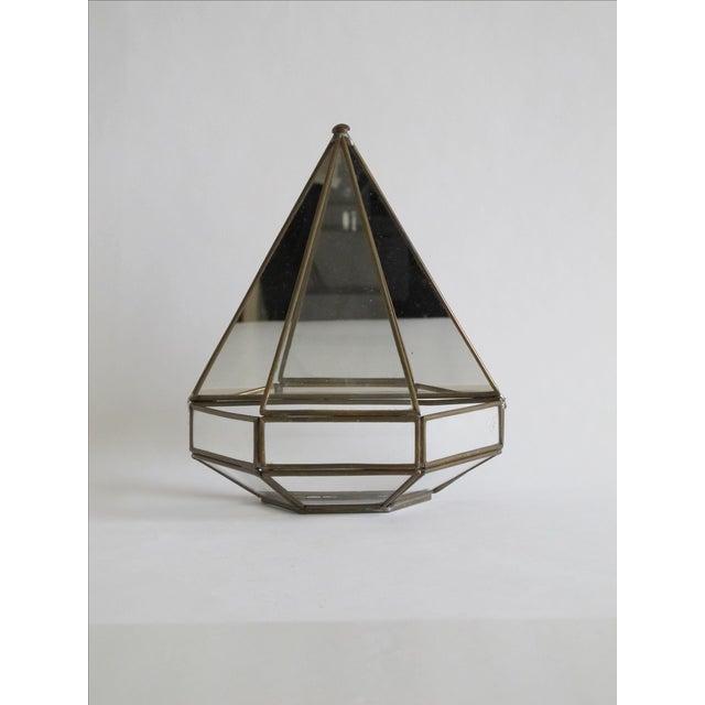 Mirrored Geometric Terrarium - Image 4 of 7