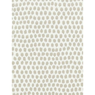 Sample, Scalamandre Dot Weave, Sand Fabric For Sale