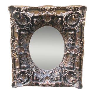 French Carved Wood Gold Frame For Sale