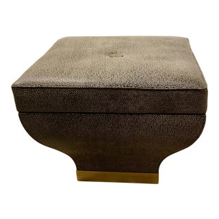 Modern Studio A Churchill Storage Ottoman For Sale