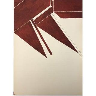 1955 Derriere Le Miroir Palazuelo Lithograph DM00373 For Sale