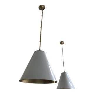 Contemporary Visual Comfort Goodman Pendant Light For Sale
