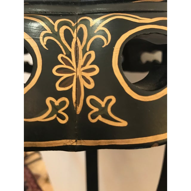 Chinoiserie Style Plant Stand or Pedestal For Sale - Image 10 of 11