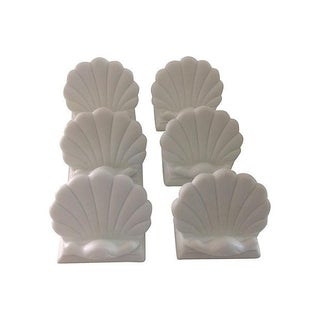 Shell-Shaped Place Cards Holders - Set of 6