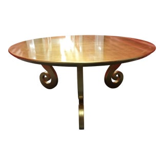 Gold Lacquer Coffee Table
