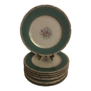 Vintage Kpm Porcelain Service Plates - Set of 8 For Sale